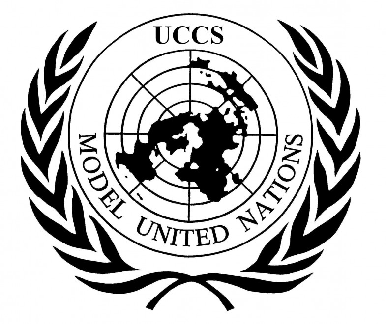 UCCS Model United Nations Logo