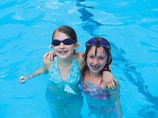 Holistic School Students Swimming