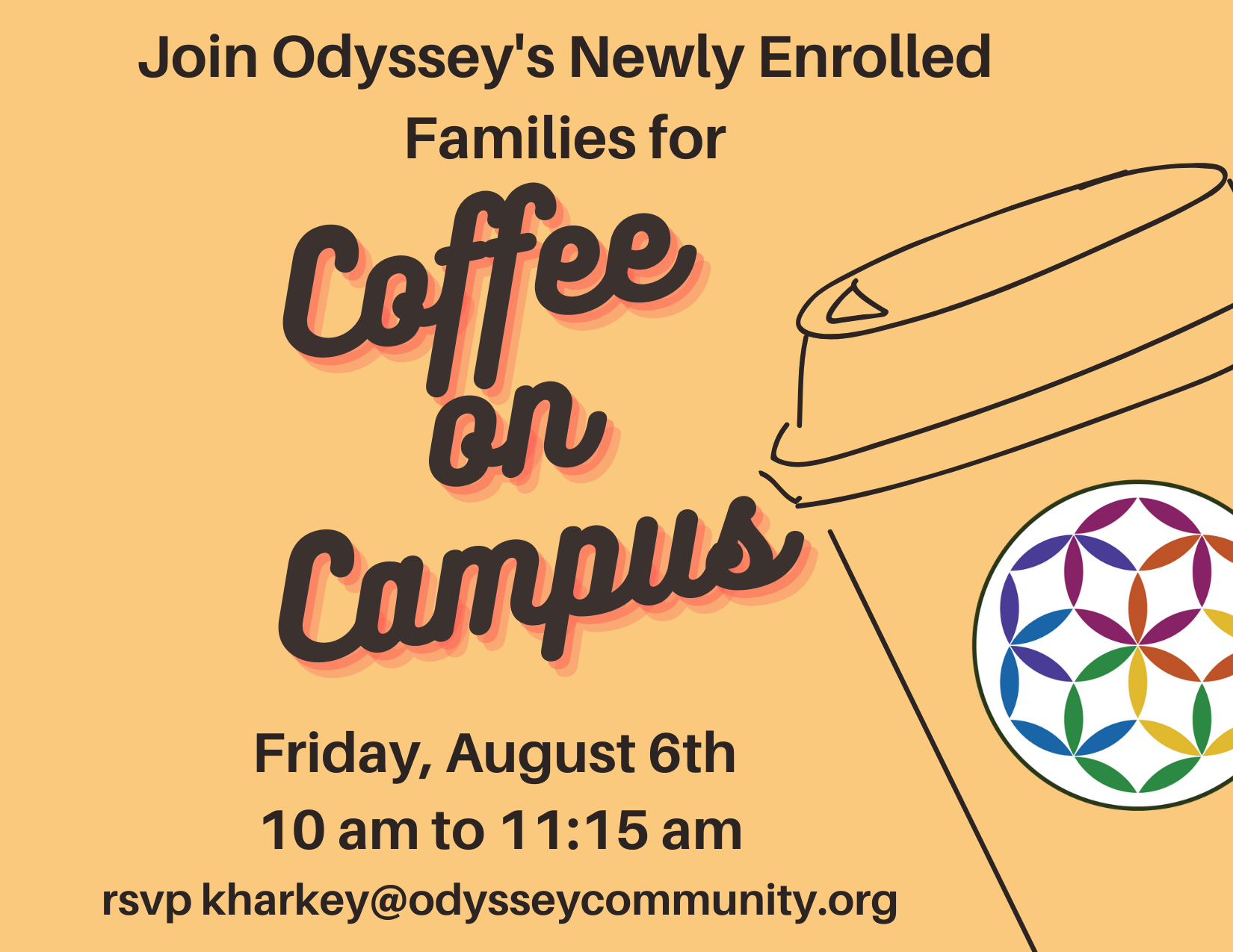 Event for newly enrolled families