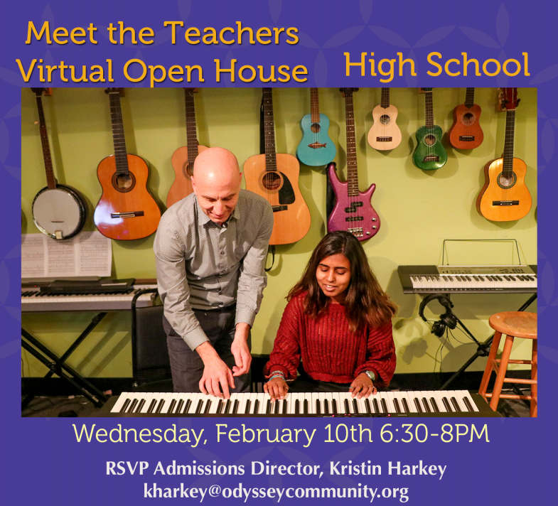 Virtual open house for Odyssey high school