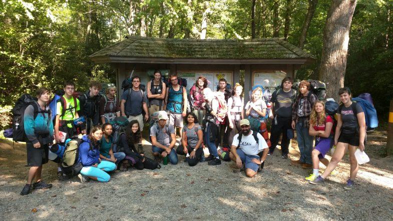 Holistic School Camping Trip Asheville