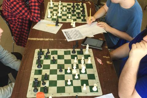 Chess Club at a Holistic School