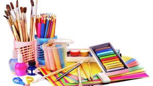 Art Supplies in a Holistic School