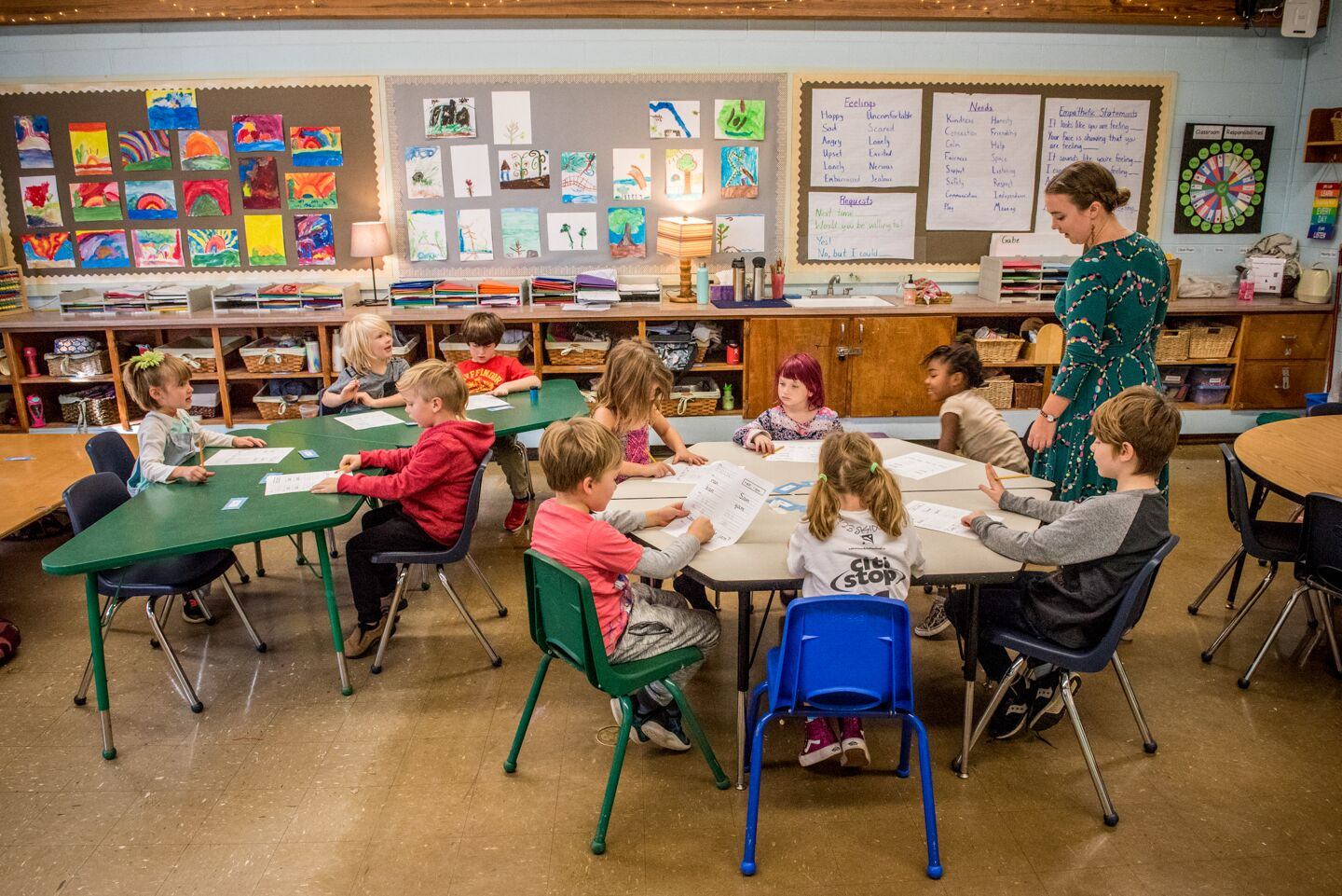Grades 1-2 Classroom Learning