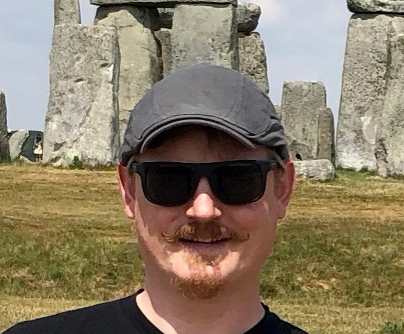 James Becker at Stonehenge for Integral Education