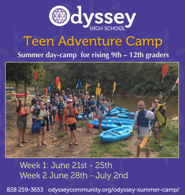 Teen Adventure Camp - Summer camp for rising 9th - 12th graders