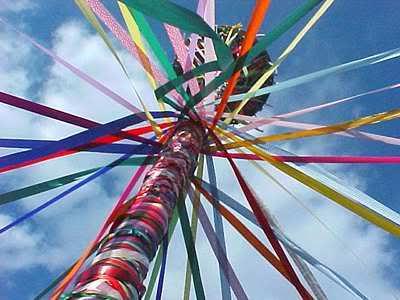 May Day Pole Ribbons