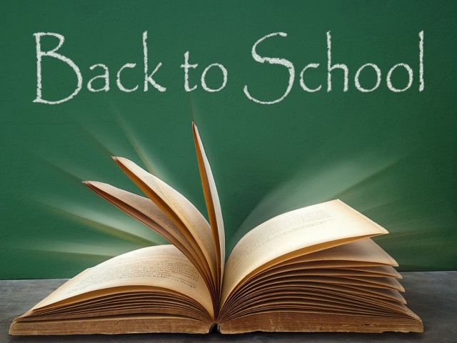 Back to School Book Graphic