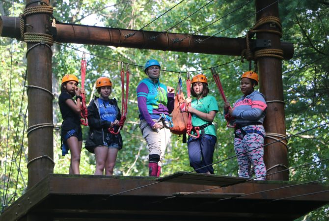 High Ropes at a Private School