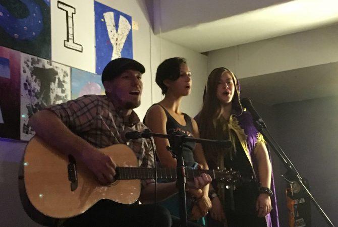 Student Band at a Holistic School