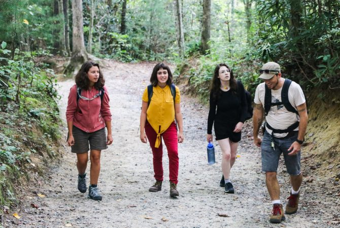 Students Hiking in Asheville