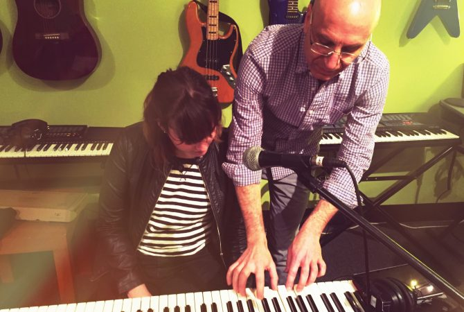 Teaching Piano at a Private School
